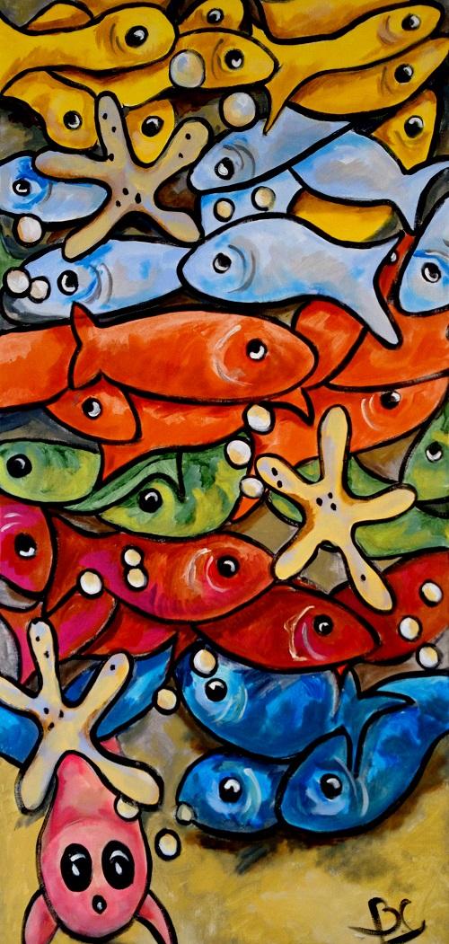 Myriade de poissons